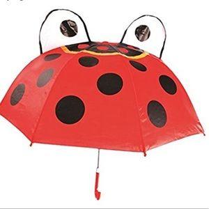 Child's Ladybug Umbrella NWOT